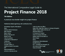 International Comparative Legal Guide to: Project Finance 2018