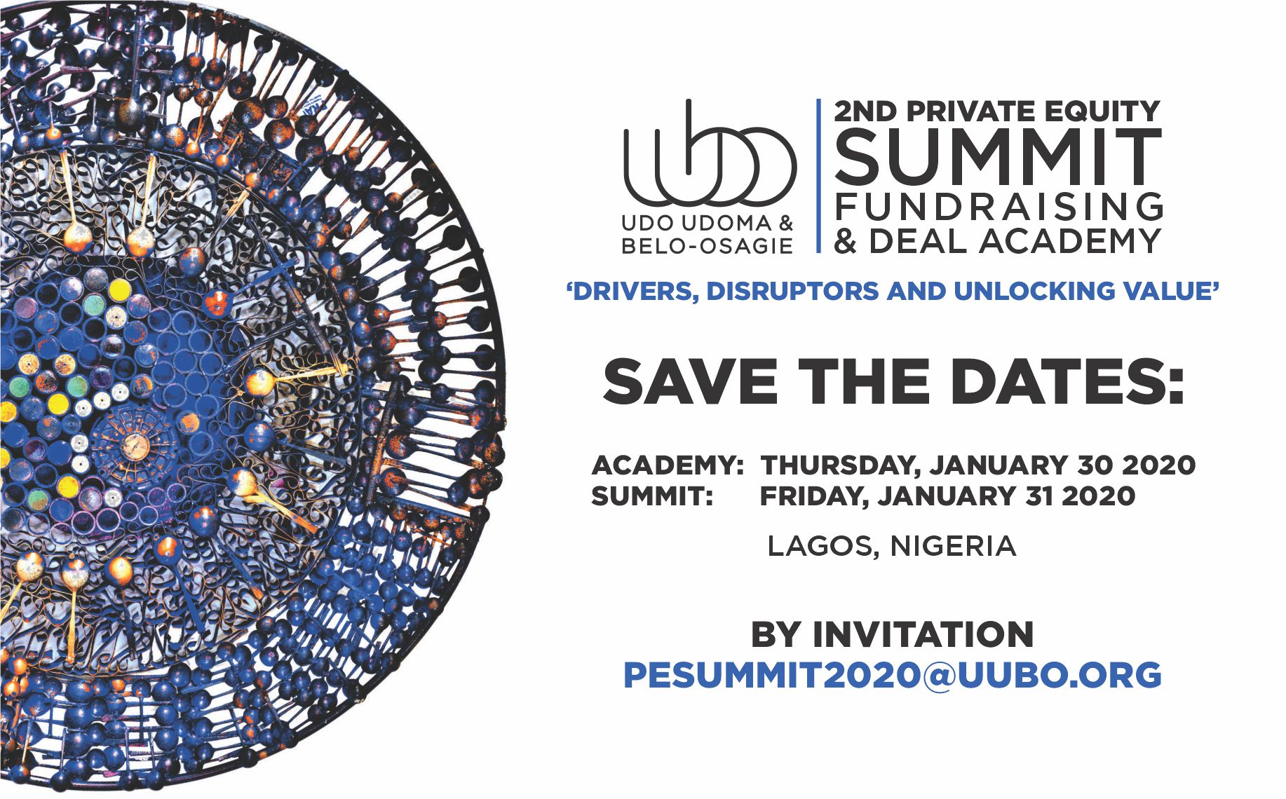 PE SUMMIT SAVE THE DATE
