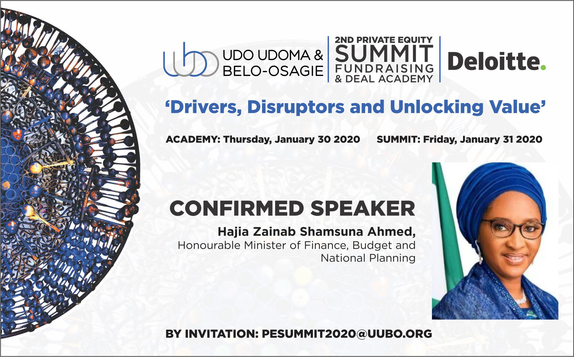 PE Summit Confirmed Speaker Hajia Zainab Shamsuna Ahmed 02