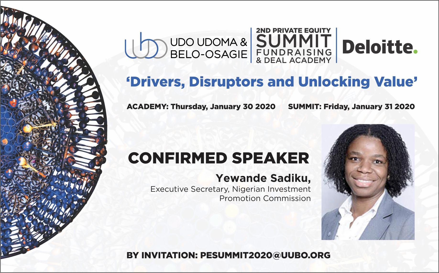 Yewande Sadiku, Executive Secretary, Nigerian Investment Promotion Commission