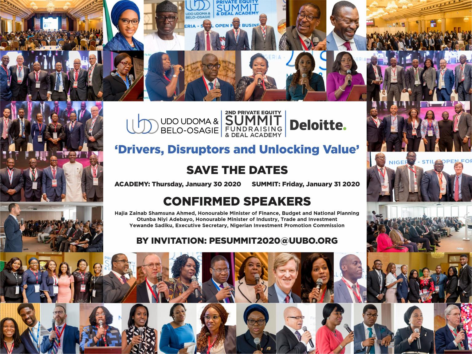 UUBO PRIVATE EQUITY SUMMIT: 'DRIVERS, DISRUPTORS AND UNLOCKING VALUE'