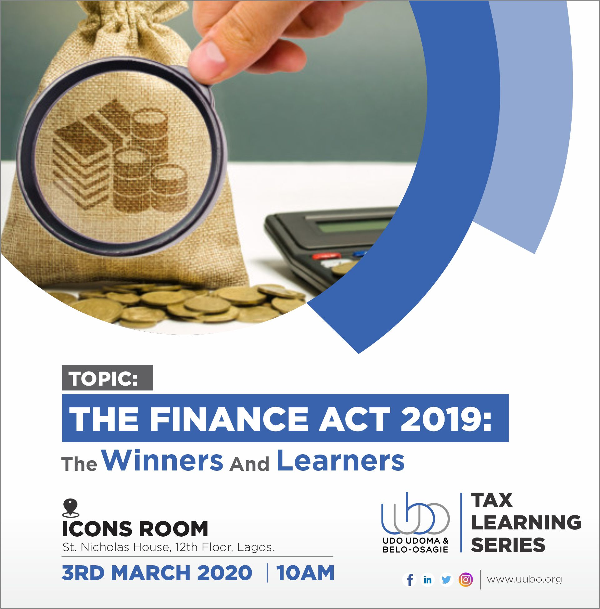 THE FINANCE ACT 2019: WINNERS & LEARNERS