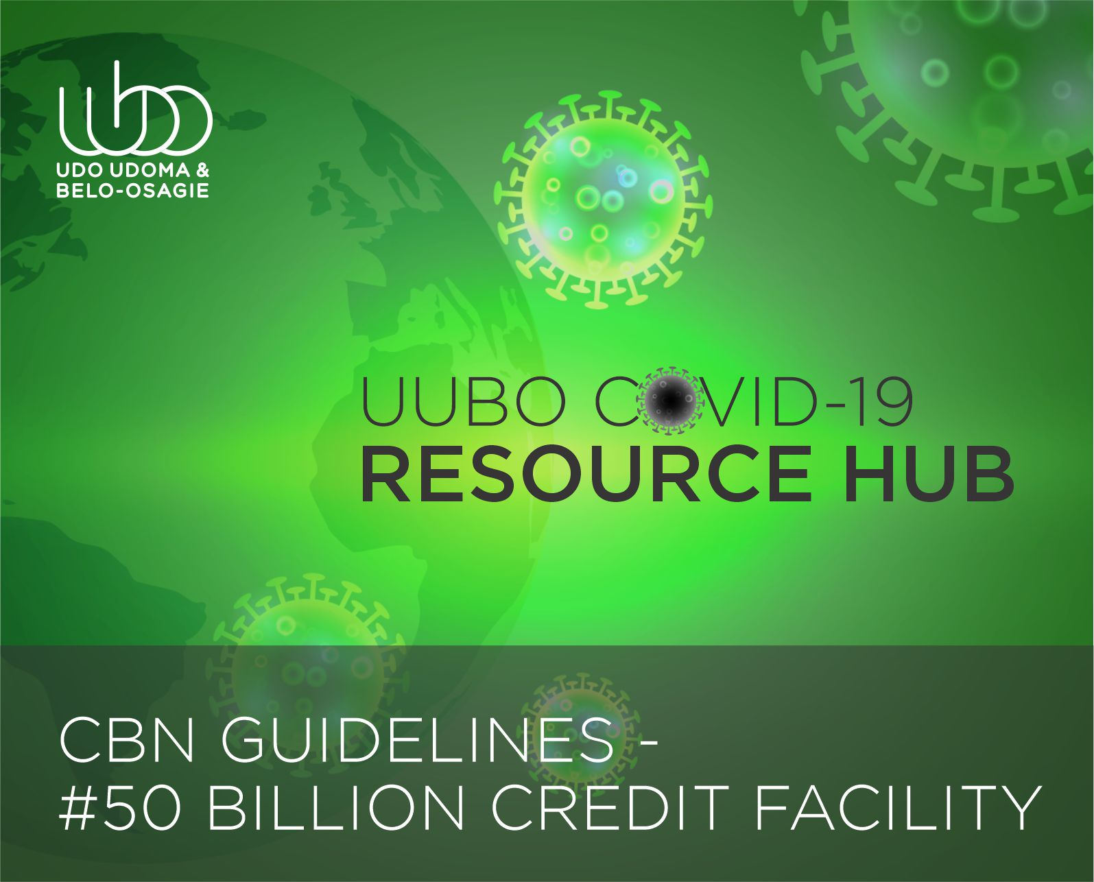 CBN GUIDELINES 50 BILLION CREDIT FACILITY