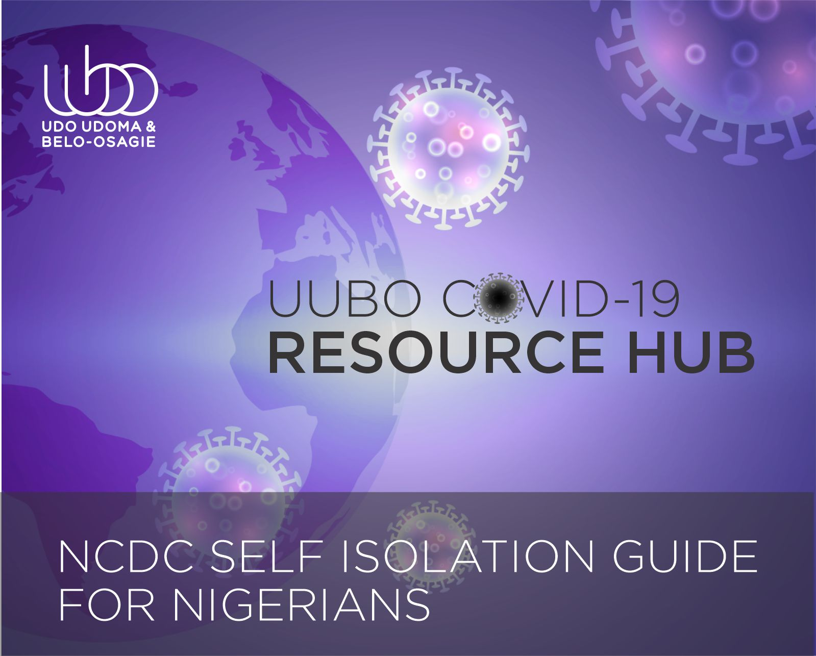 NCDC SELF ISOLATION GUIDE FOR NIGERIANS