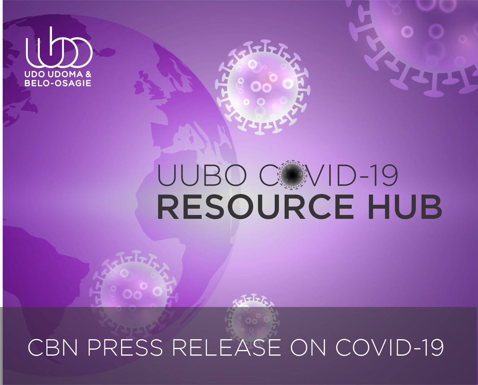 CBN PRESS RELEASE ON COVID 19