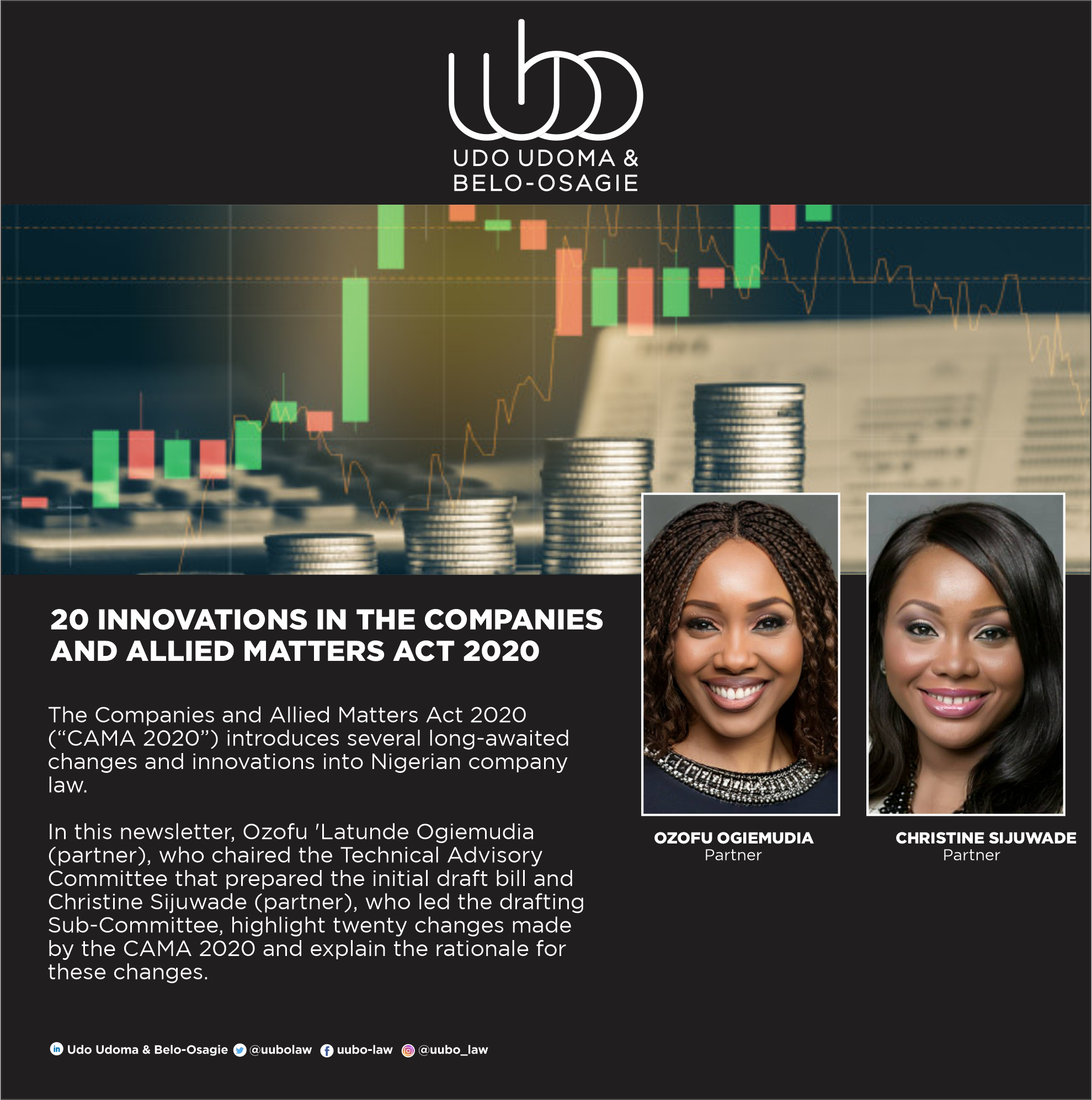20 INNOVATIONS IN THE COMPANIES AND ALLIED MATTERS ACT 2020