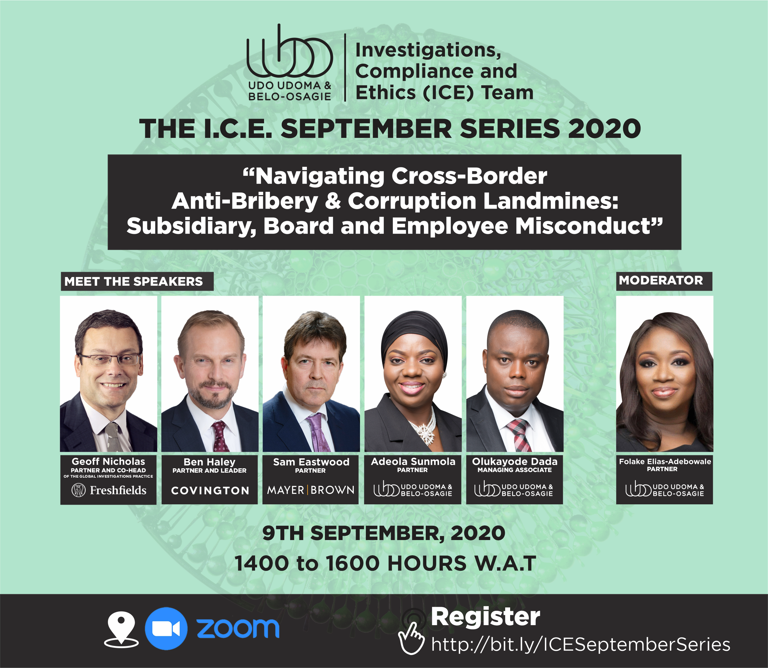 ICE SEPTEMBER SERIES - NAVIGATING CROSS-BORDER ANTI-BRIBERY AND CORRUPTION LANDMINES: SUBSIDIARY, BOARD AND EMPLOYEE MISCONDUCT