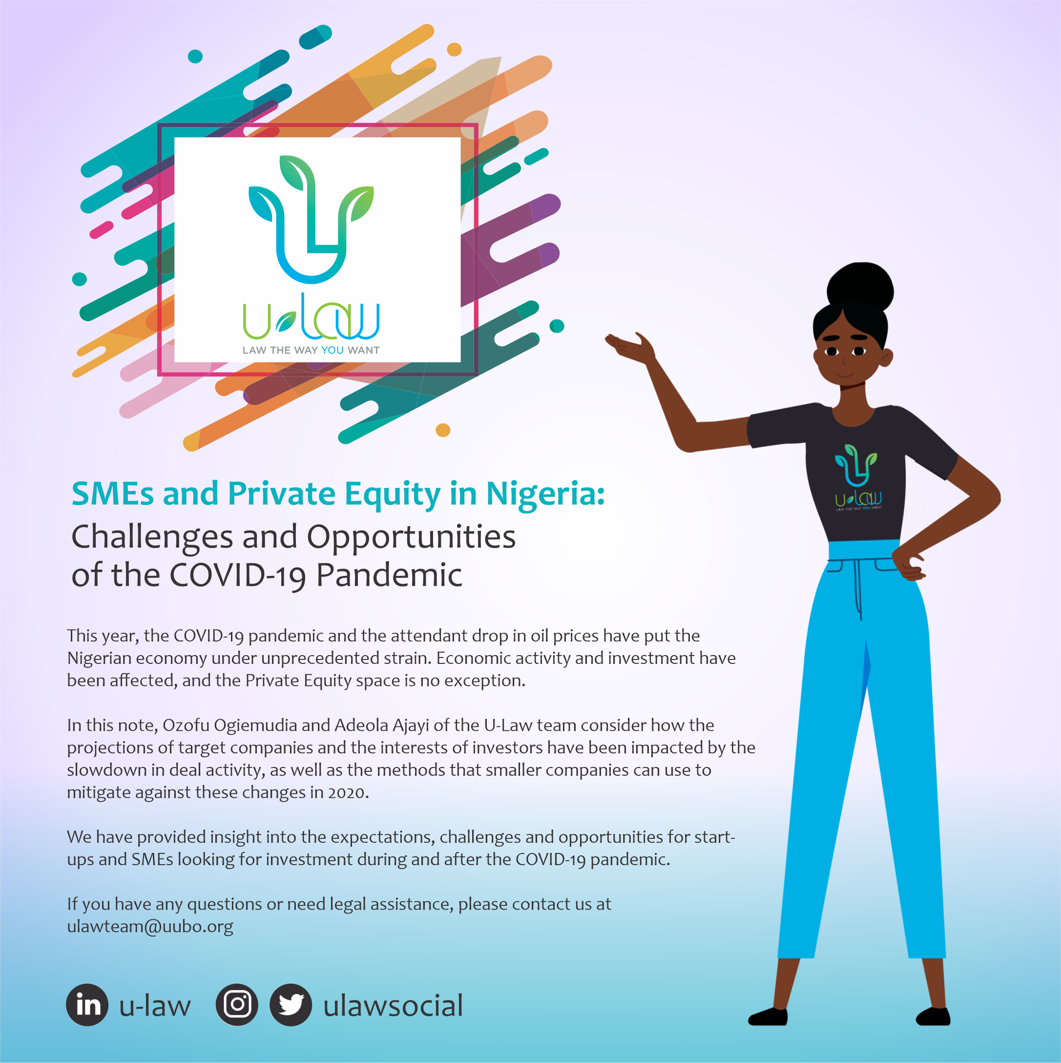 SMEs and Private Equity in Nigeria Challenges and Opportunities of the COVID-19 Pandemic
