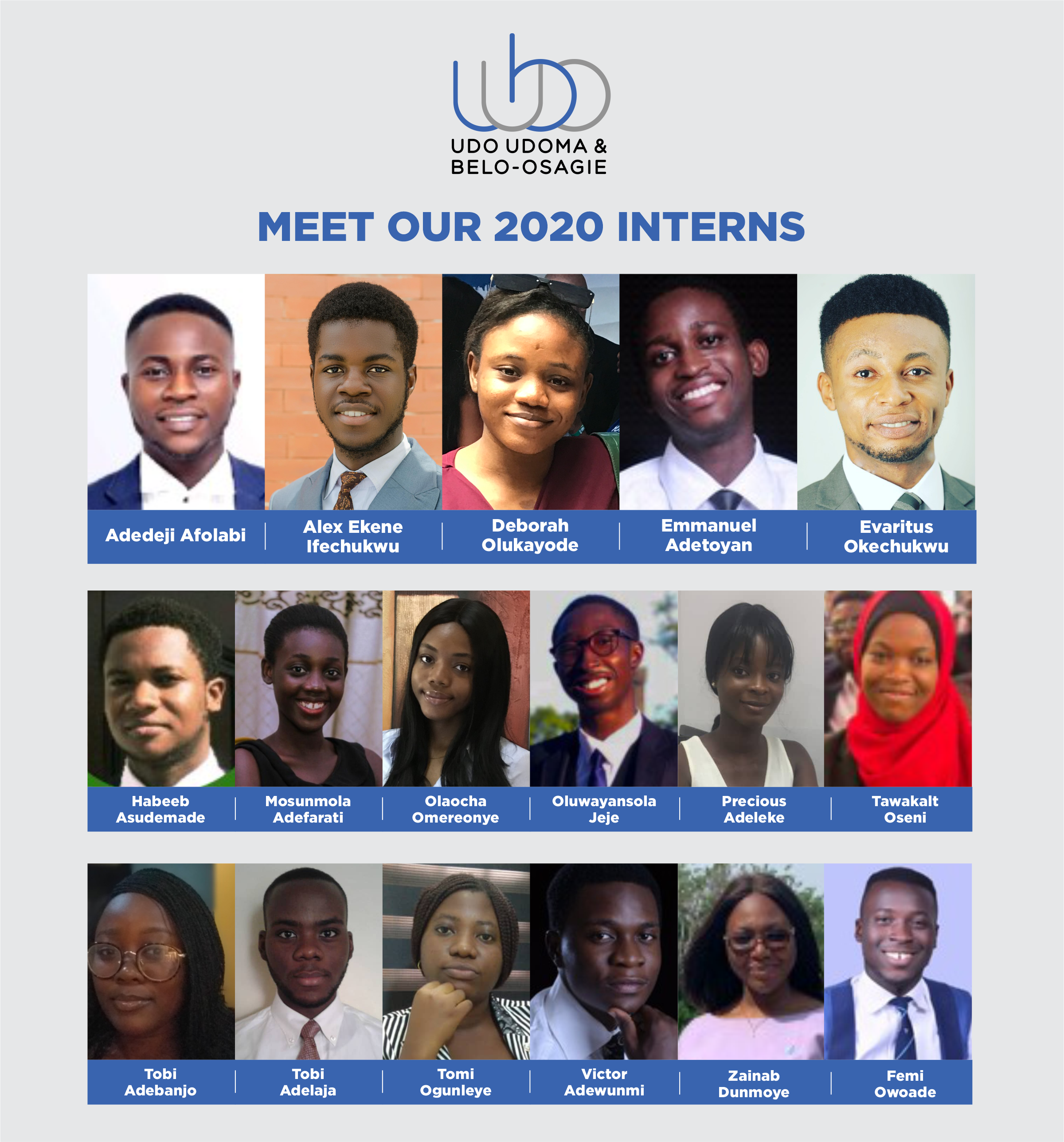 Meet Our 2020 Interns