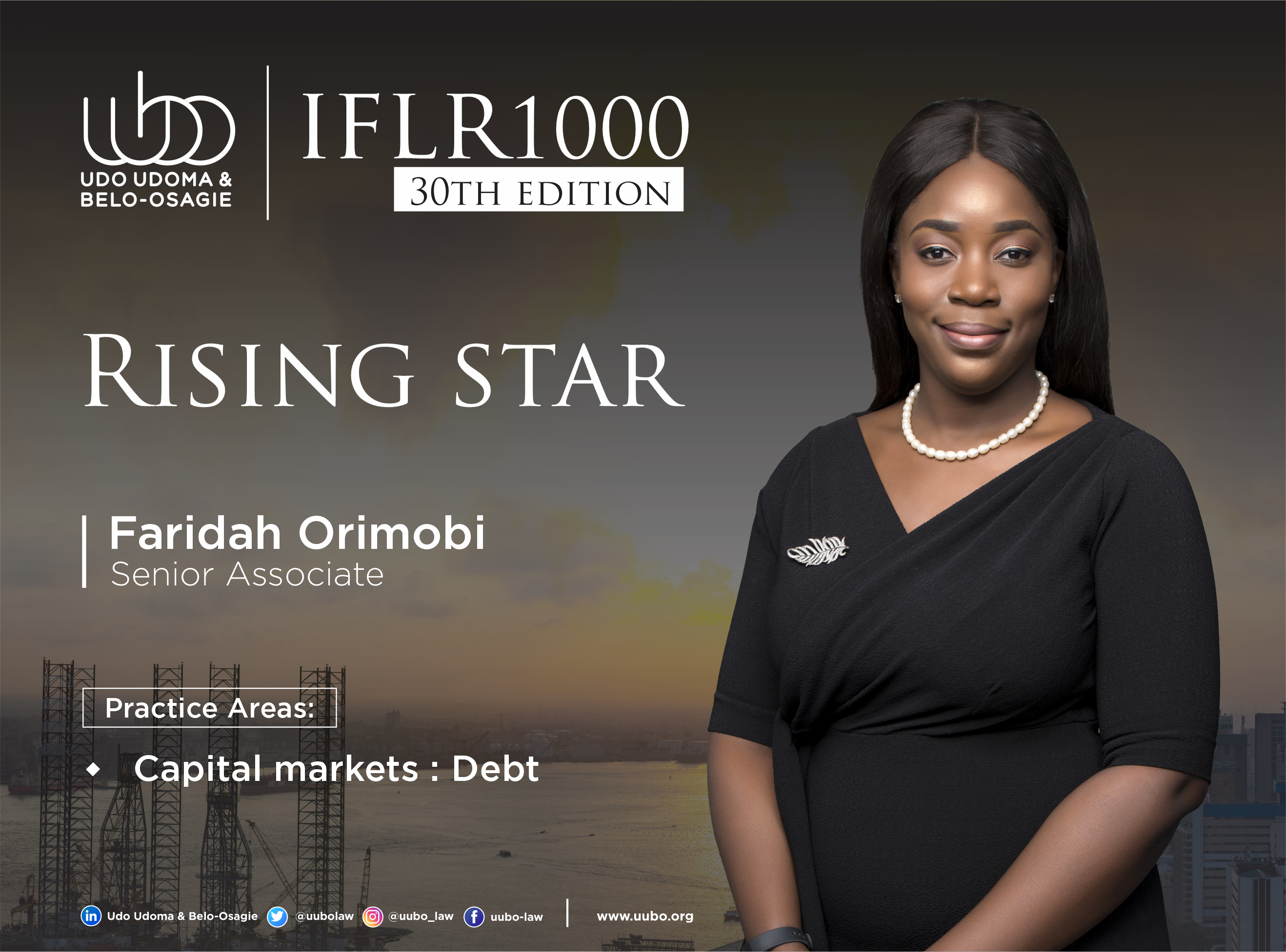 IFLR 100 30Th Edition FARIDAH ORIMOBI