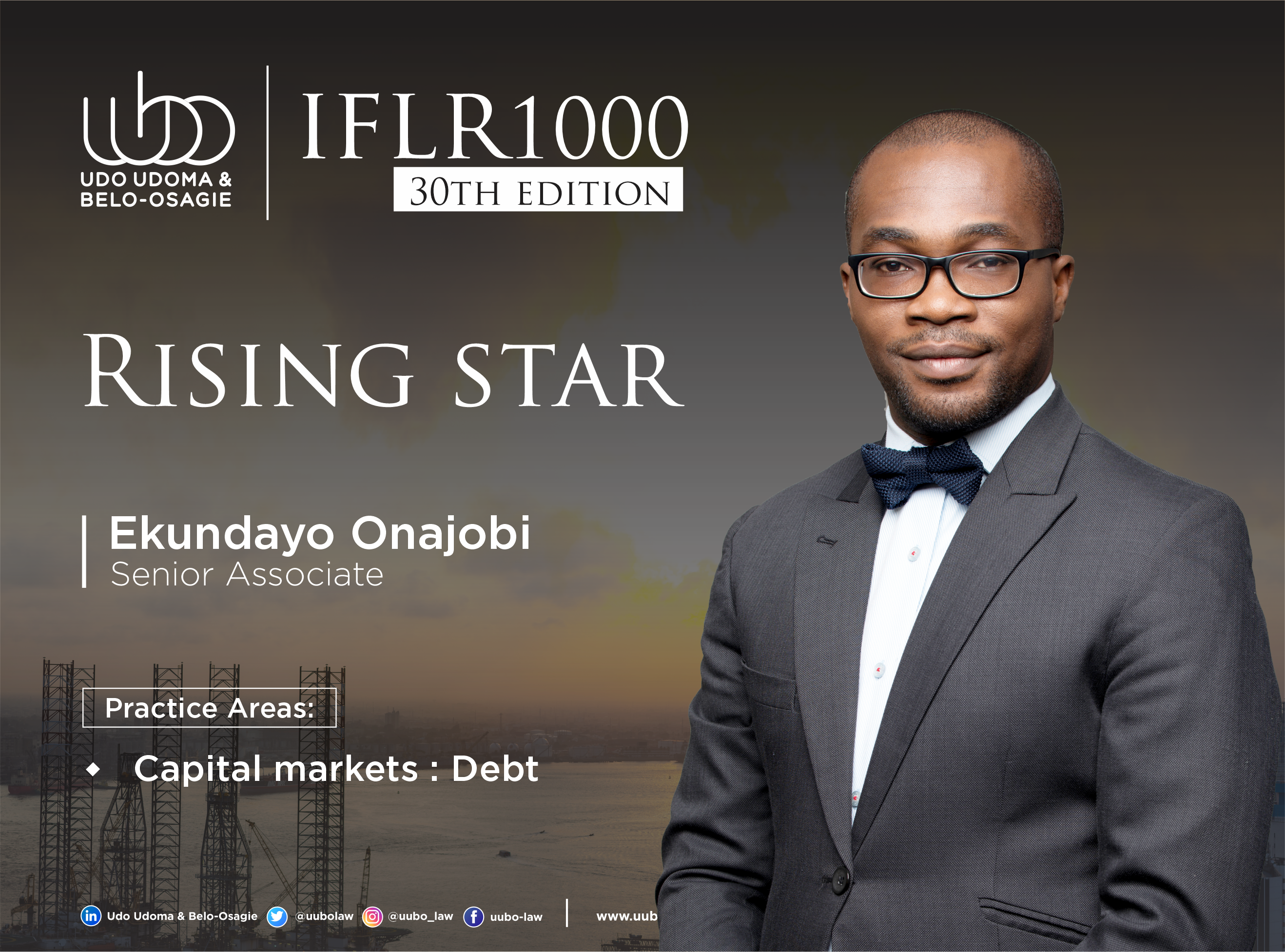 IFLR 100 30Th Edition EKUNDAYO ONAJOBI
