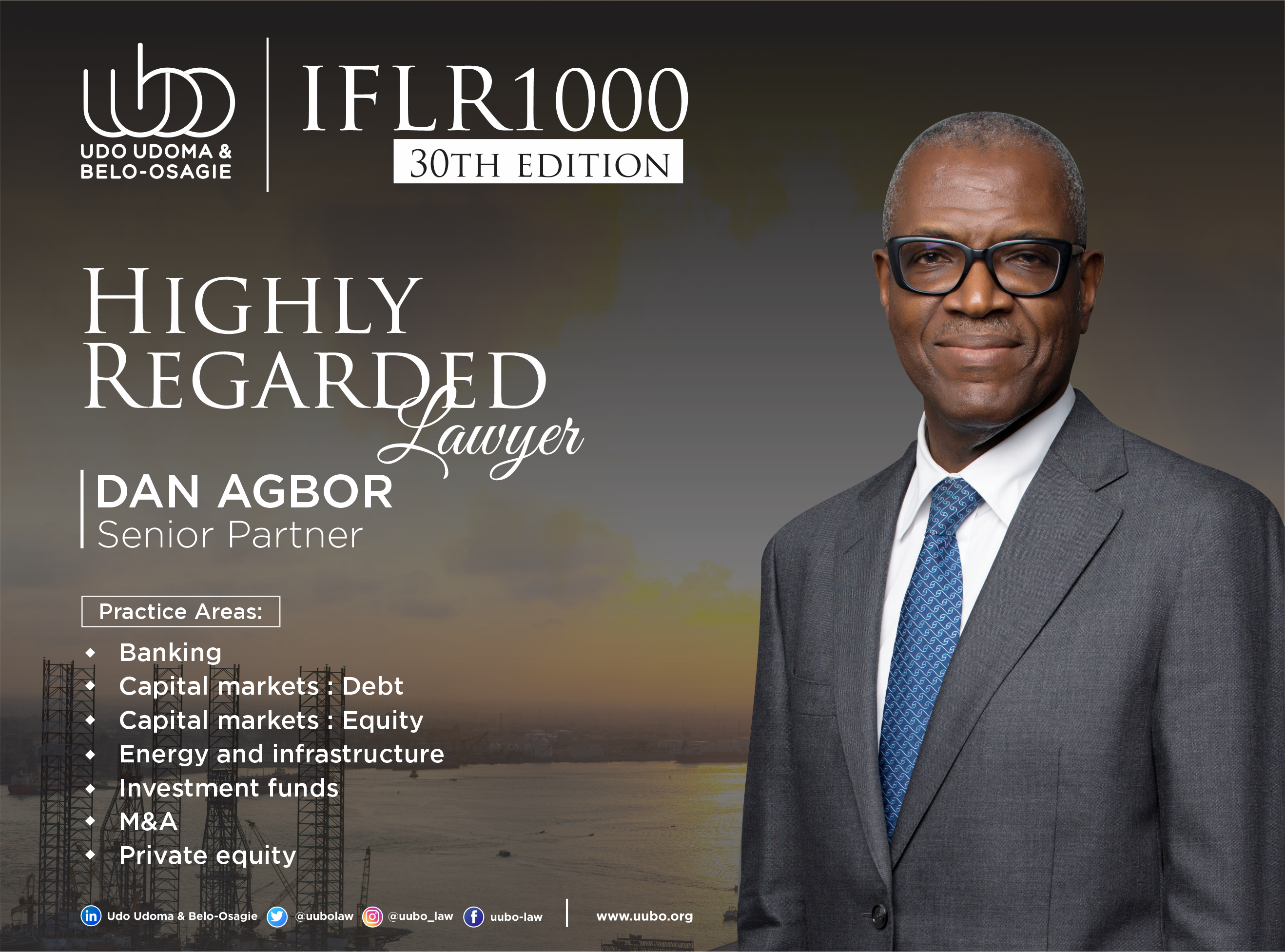 IFLR 100 30Th Edition DAN AGBOR