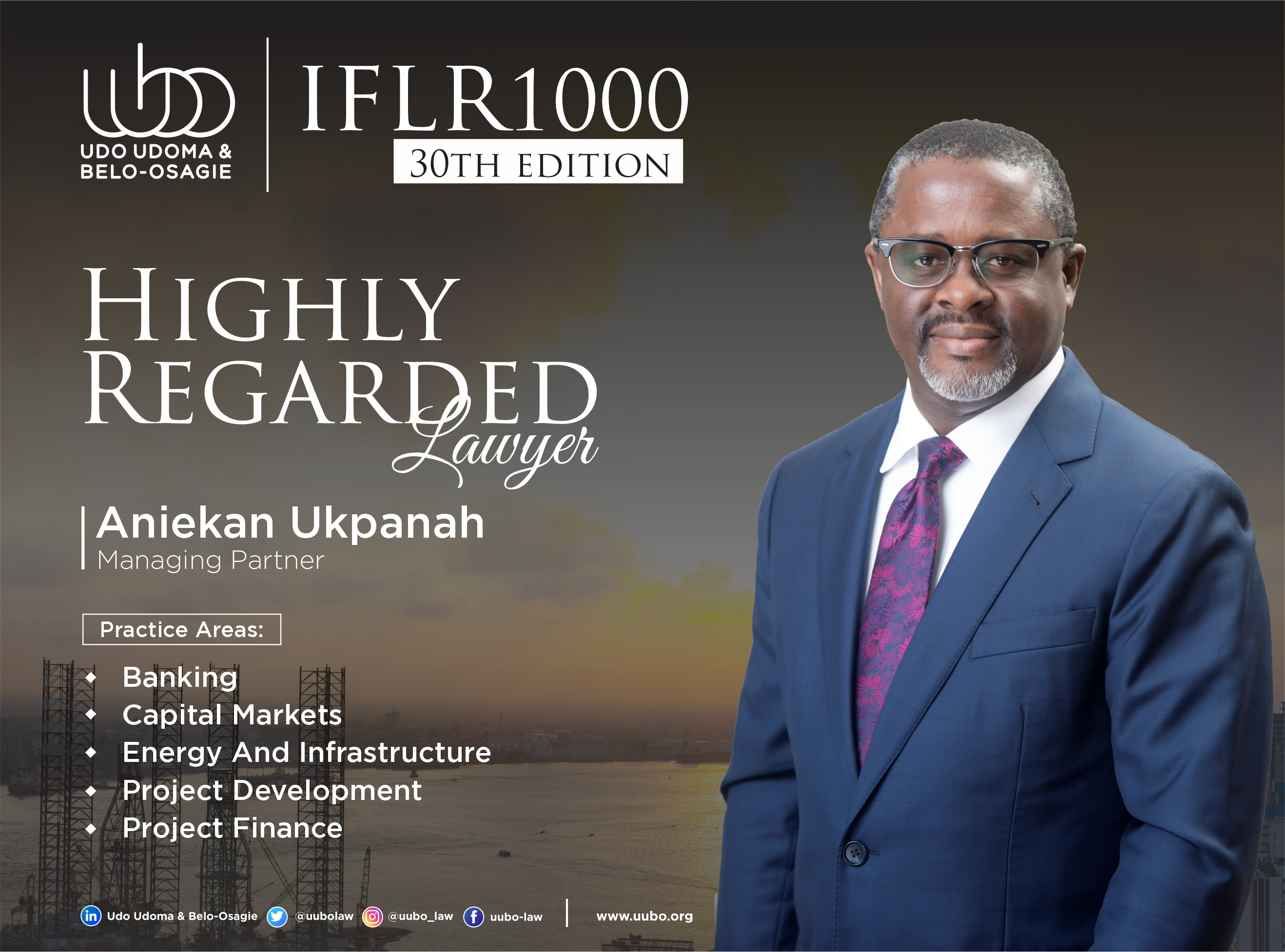 IFLR 100 30Th Edition ANIEKAN UKPANAH