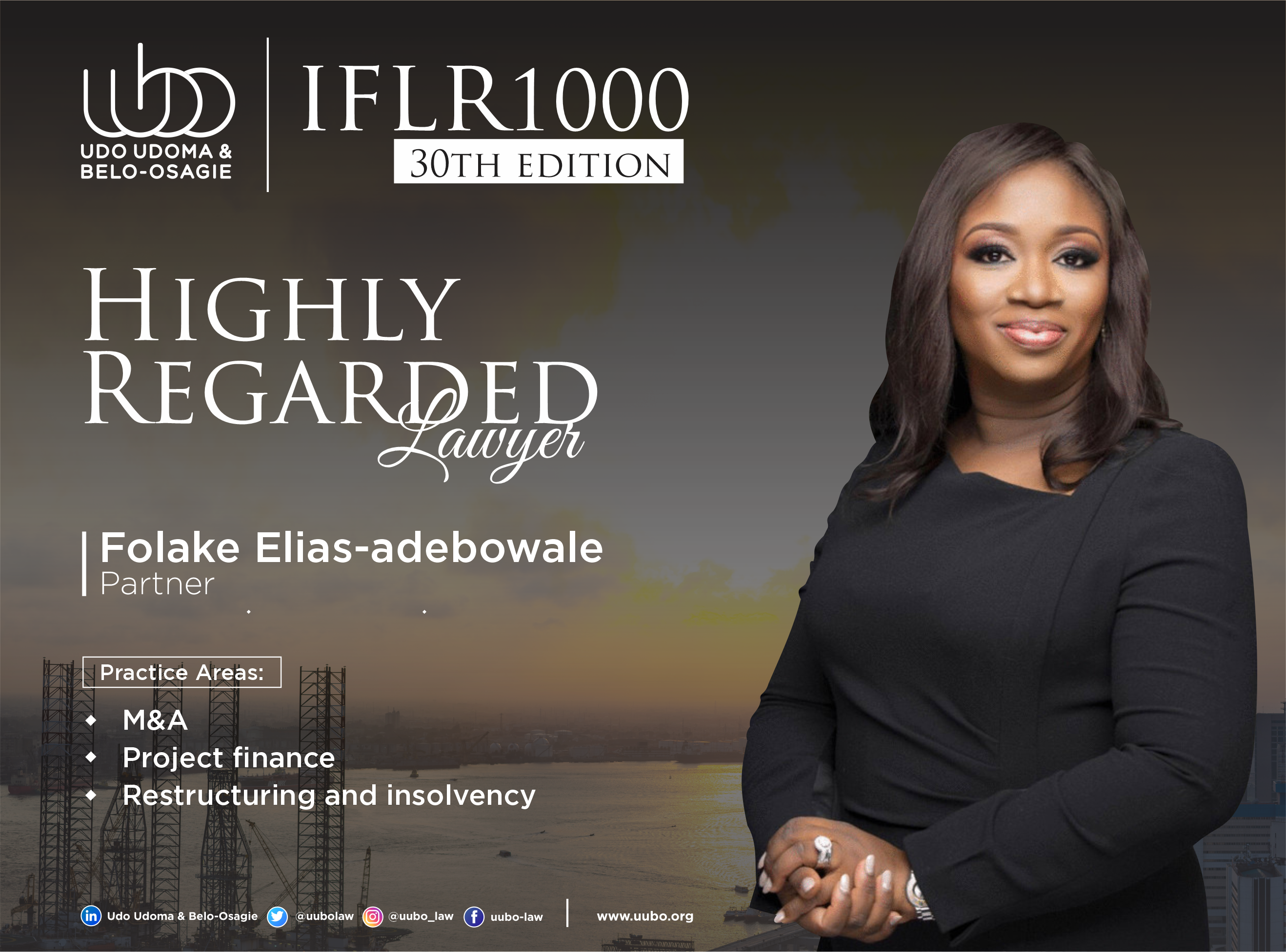 IFLR 100 30Th Edition FOLAKE ELIAS ADEBOWALE