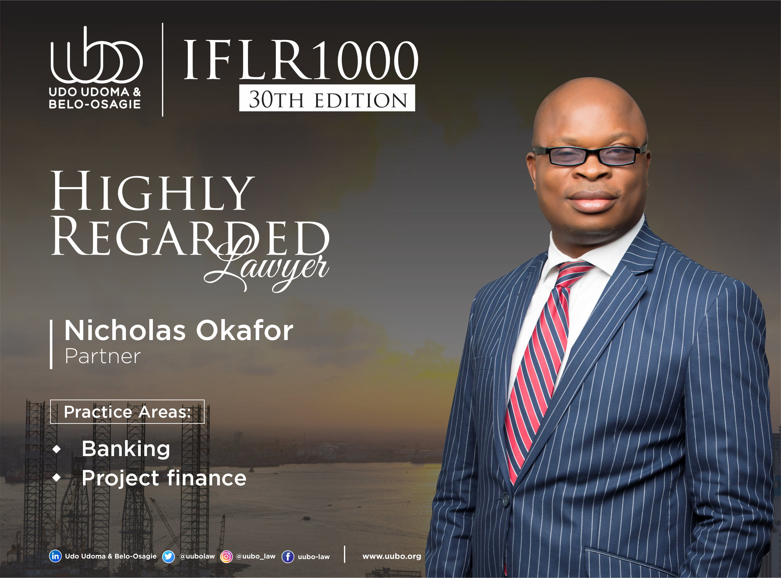 IFLR 100 30Th Edition NICHOLAS OKAFOR