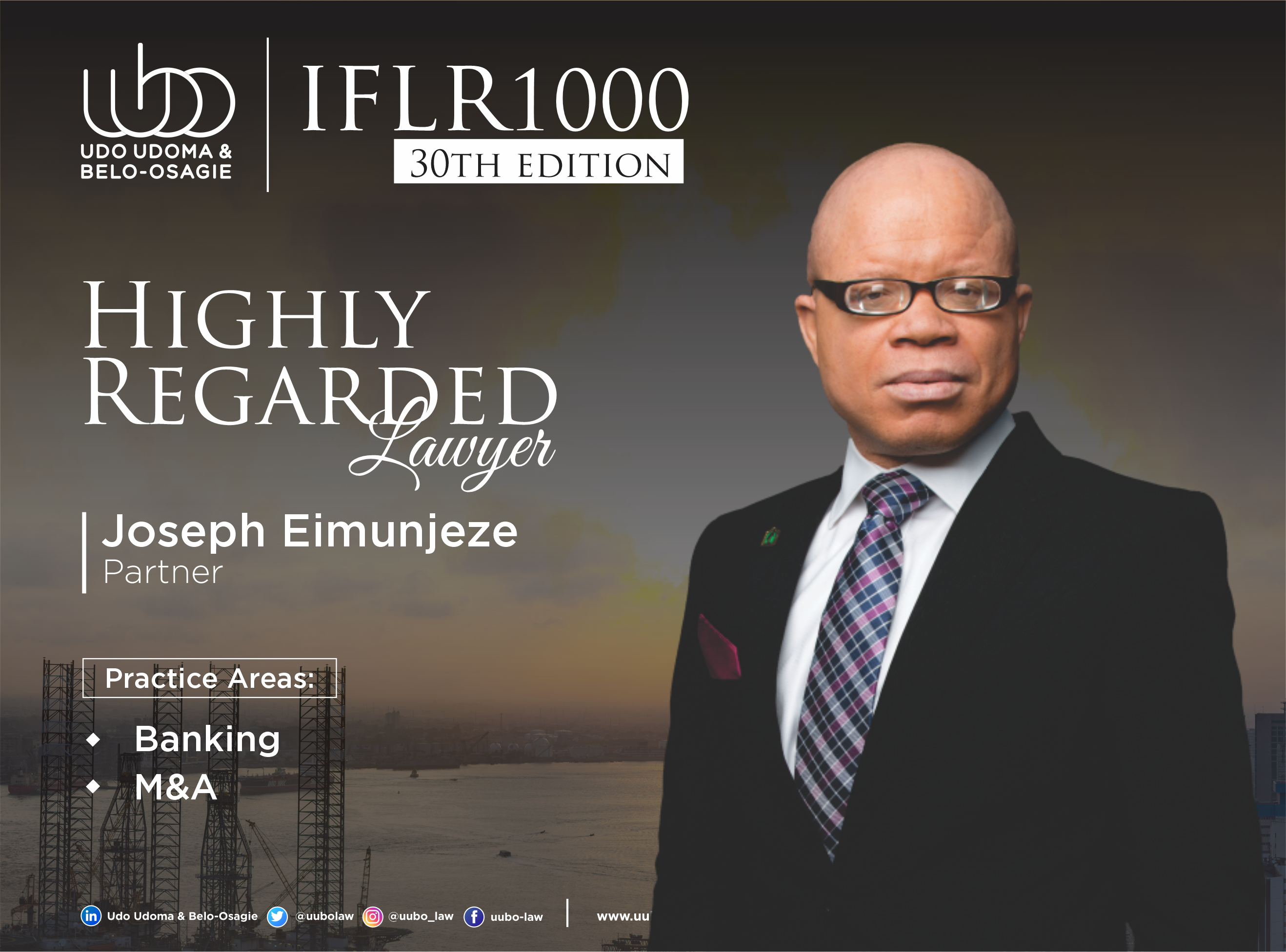 IFLR 100 30Th Edition JOSEPH EIMUNJEZE