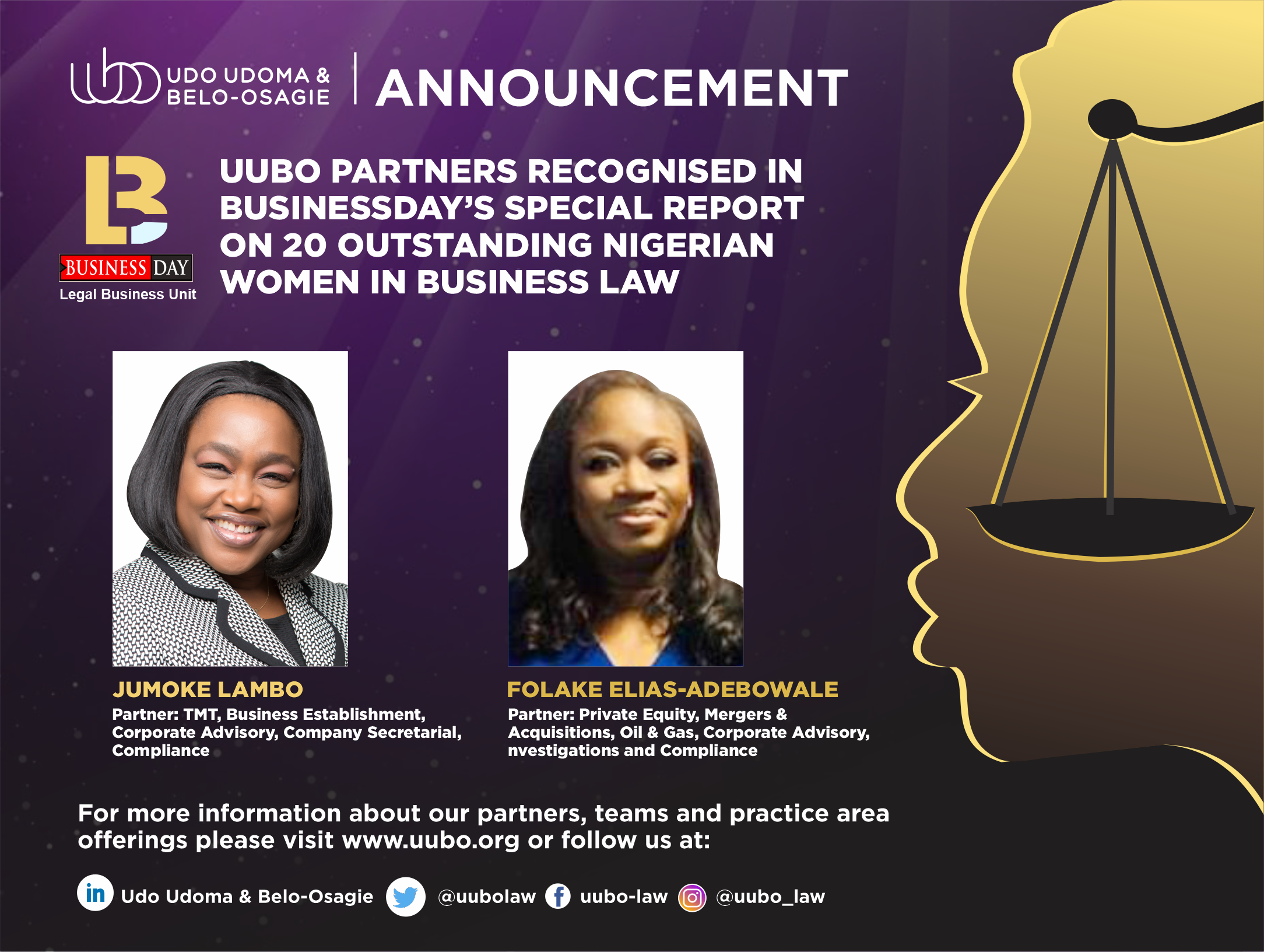 Top 20 Outstanding Wome In Business Law V1