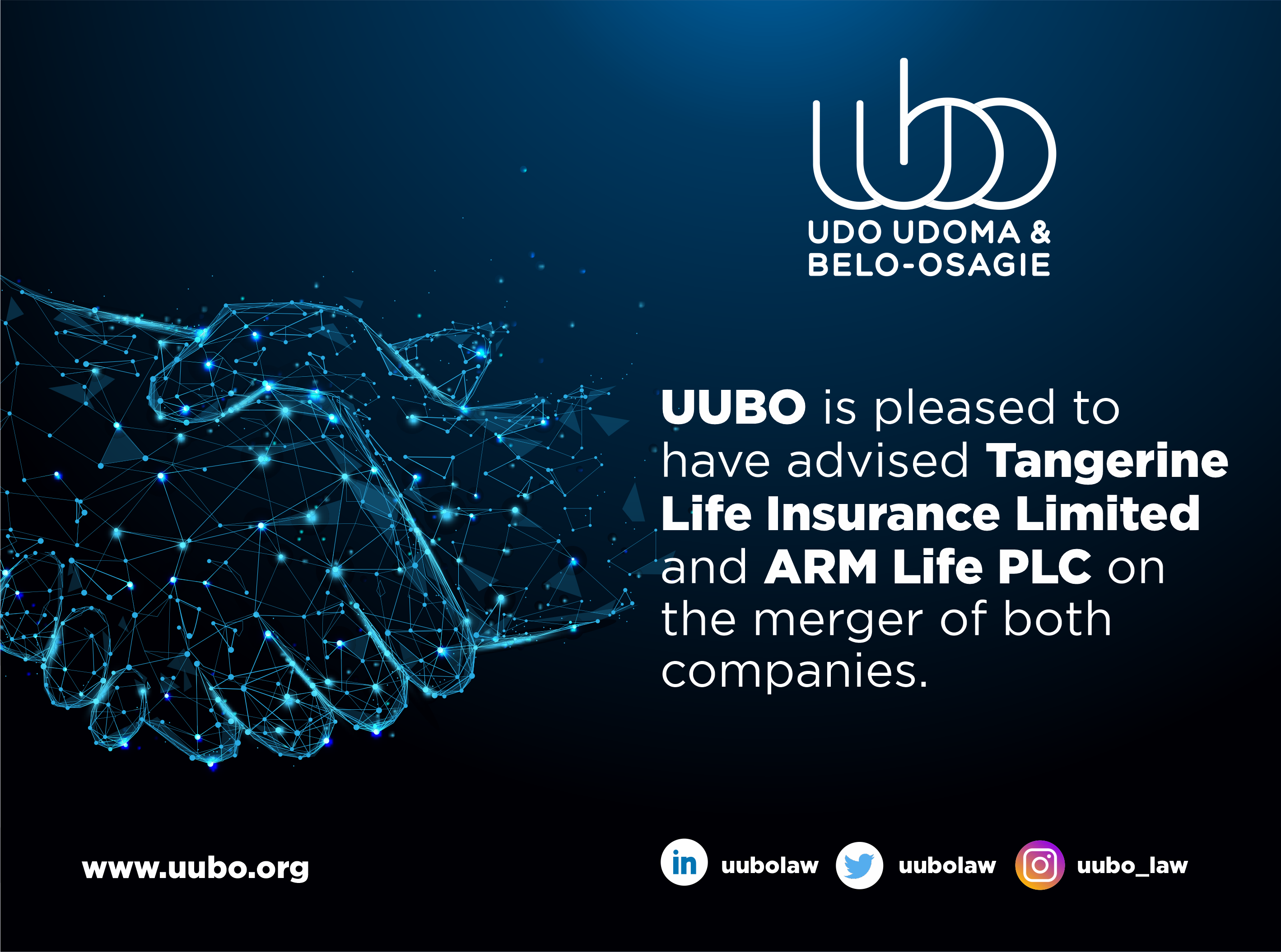 Deal Announcement Tangerine Life Insurance Limited And ARM Life PLC